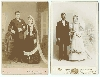 Wedding Couples Cabinet Cards