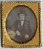 Man in a Top Hat Daguerreotype