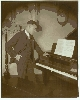 The Piano Player  - Silver Photograph