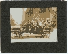 Jitney Full of Tourists Silver Photograph