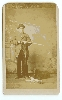 Hunter, Rifle, Dog and Rabbit CDV