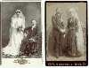 One Black, The Other White - Wedding Cabinet Cards