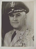 Autographed Silver Photo of USAF General Burns