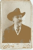 Buffalo Bill Cody Cabinet Card by Stacy