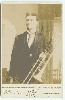 Trombonist Cabinet Card